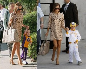 Victoria Beckham wears same outfit twice!
